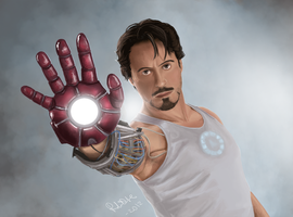 Iron Man by prince-kristian