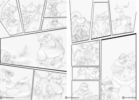 NPW Webcomic Pages 24 and 25 by JonDavidGuerra