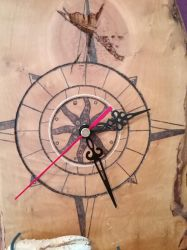 Crab Clock Detail 2 by ThEpOnDdUcK