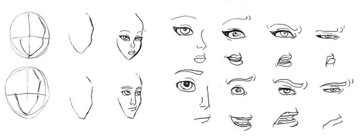 Tutorial: Eyes, nose, mouth by Lily-pily