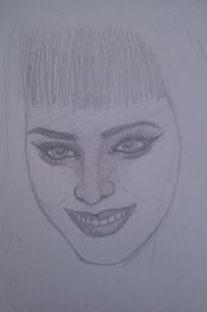 Sketches 01 - Katy Perry by Daisymadness