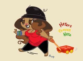 Haters Gonna Hate by LiLLi-ViLLa