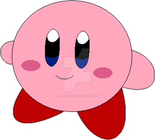 Kirby Plush by SuperMarioFan65