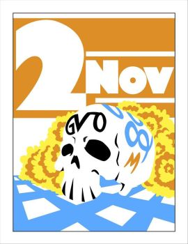 November 2nd - Day of the Dead by Gerry-Lee