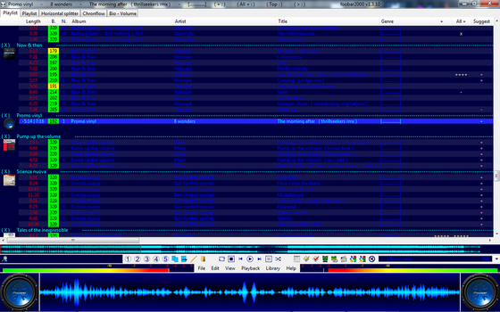 Foobar2000 Main screen by stem75