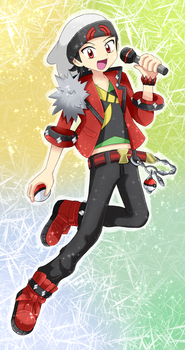 Ruby [Pokemon Special] Contest Outfit by StarRockie