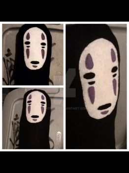 No face plush pillow by Sotone