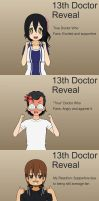 13th Doctor Reveal by ROCuevas