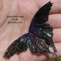 Unseelie court faery wings by S0WIL0