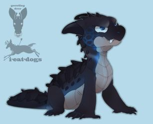baby dragon auction! by growling-deer
