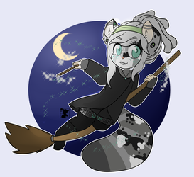 Art Trade - Cassiel the Witch by Lovesome-Stars
