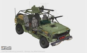 assault Vehicle by marksanwel
