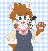 overalls gal by sugar-n-spark