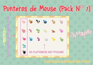 Punteros de mouse Seleccion normal Pack 1 by MayteKr