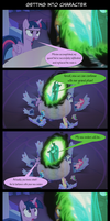 Comic: Getting into Character by Str1ker878
