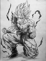 Goku Super Saiyan 1 by EckoSlime