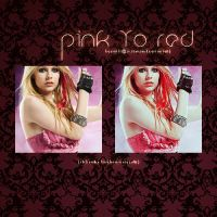 pink to red action by heymili