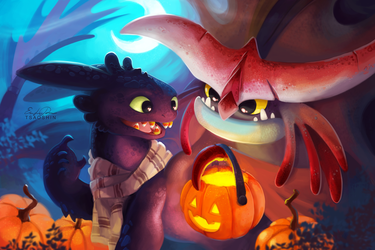 Candy Tooth Toothless by TsaoShin