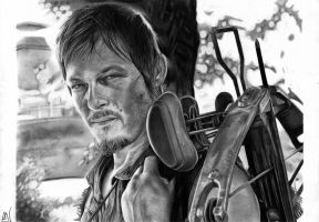 Daryl Dixon by marcelkiss