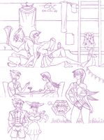 Duel University Summer Sketches #3 by LockdownTheDeath