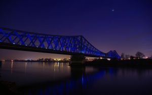Bridge Rouen WP by Makavelie
