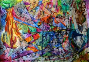 Uniformed Lines of Chaos by Lizod