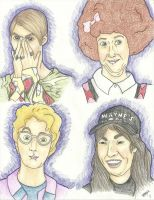 Saturday Night Live characters by PeRfEcT186