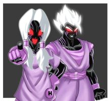 :GIFT: Videl and Gohan by ss2sonic