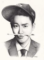 [EXO] Suho by DENITSED