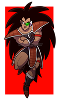 raditz by TheUltimateEnemy