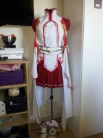 Asuna (knight of the blood) cosplay WIP by Tigermis-Cosplay