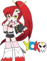 Panty Anarchy and Yoko Littner Crossover by Bobasauras