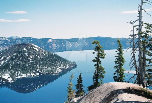 Crater Lake IV by Katalan