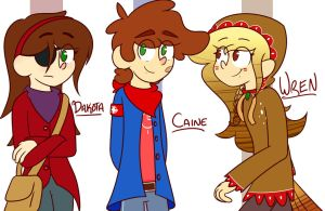 The gang by asclepiusartist