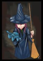 little witch by Bjak