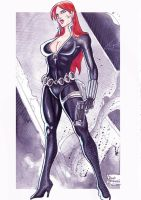 Black Widow by eltondias