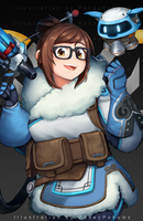 Overwatch - Mei by PokeyPokums