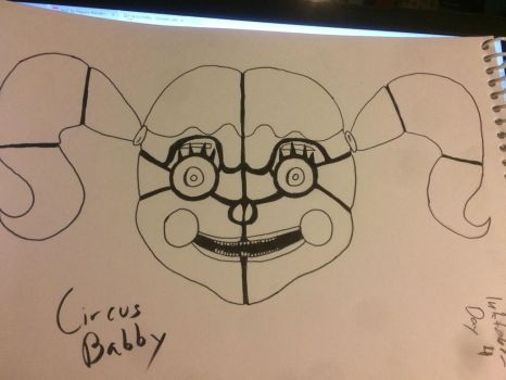 Circus Baby from Fnaf SL by CharlotteLCW