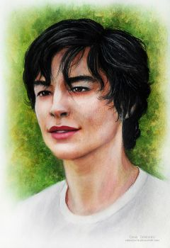 Ezra Miller_Kevin (We need to talk about Kevin) by MeduZZa13