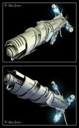 Capacitor Cannon 3D by lookitsasian