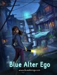 Blue Alter Ego Cover Art by Mei-Xing