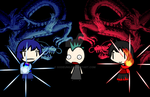 (walfas) Double Dragon power! by Godeung