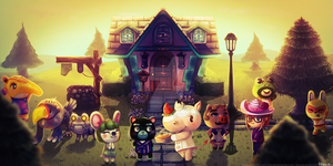 ACNL Town Commission by Felynea