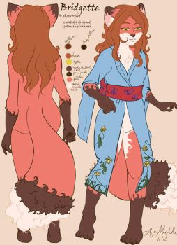 Bridgette...:Adopted Ref Sheet by gothicsugarbabies