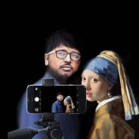 Thanks to a Girl with a pearl earring for posing by unnibabu