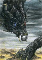 ACEO for Drakhenliche by Dragarta