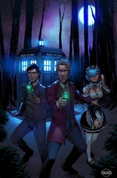 A New TARDIS Trio by ParisAlleyne