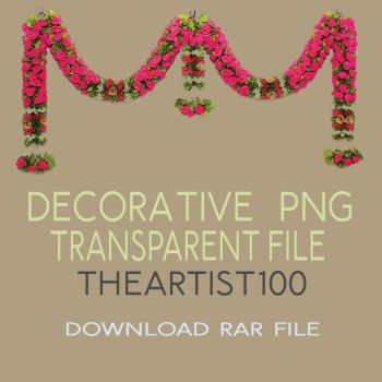 DECORATIVE PNG FREE by TheArtist100