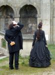 victorian couple stock 2 by DemoncherryStock
