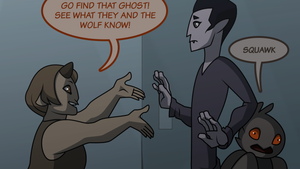 The Spark webcomic starts soon!! by L-James